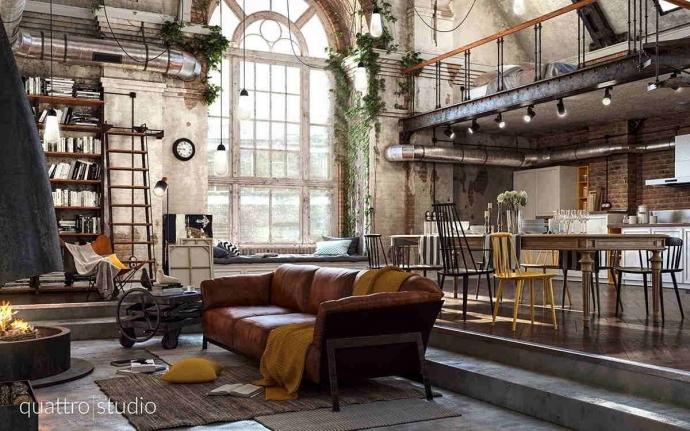 10 ideas para ahorrar espacio en un loft