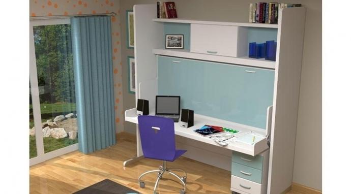 10 ventajas de un mueble cama individual con mesa