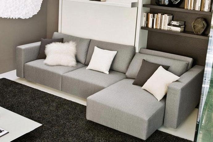 Espacios peque os grandes soluciones sofas cama cruces - Sofas cama pequenos ...