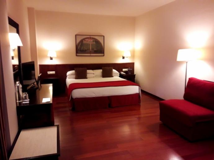Sillón cama para hoteles de la marca Cruces en el Hotel Saliecho de Formigal