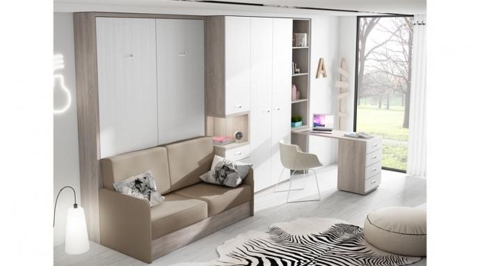 3 ventajas de los muebles cama abatibles con sofá para el hogar