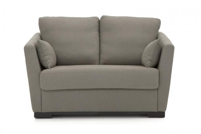 sofá cama pequeño y estético para hoteles con encanto