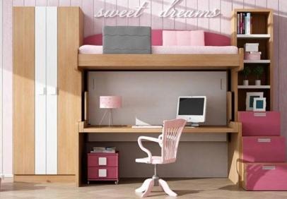 Sencillo y econ mico mueble cama individual sofas cama - Fabricar cama abatible ...