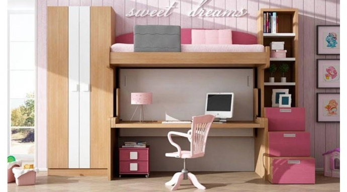 Las ventajas de la madera en la habitación de tus hijos
