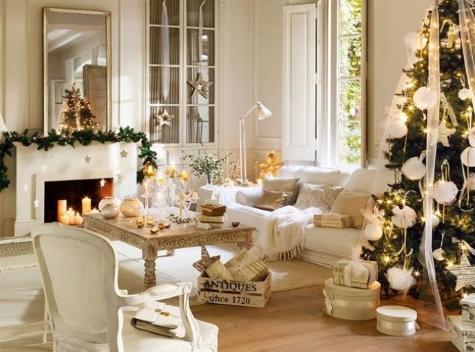 Tips de decoración navideña para tu salón