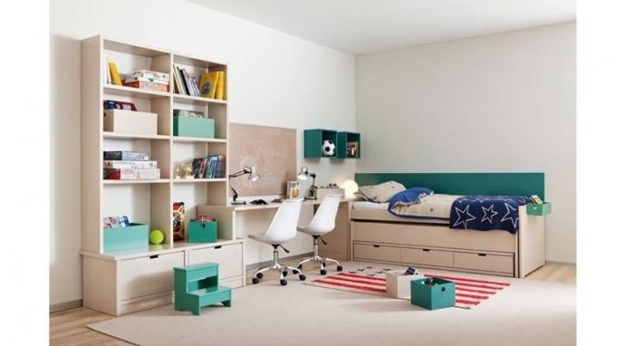 Dormitorio infantil compartido o cómo evitar peleas entre hermanos