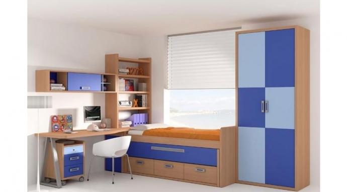 La solución a los problemas de almacenamiento en la habitación de tu hijo
