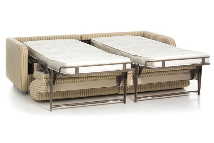 Sof cama con dos camas independientes sofas cama cruces for Sofa cama de dos cuerpos