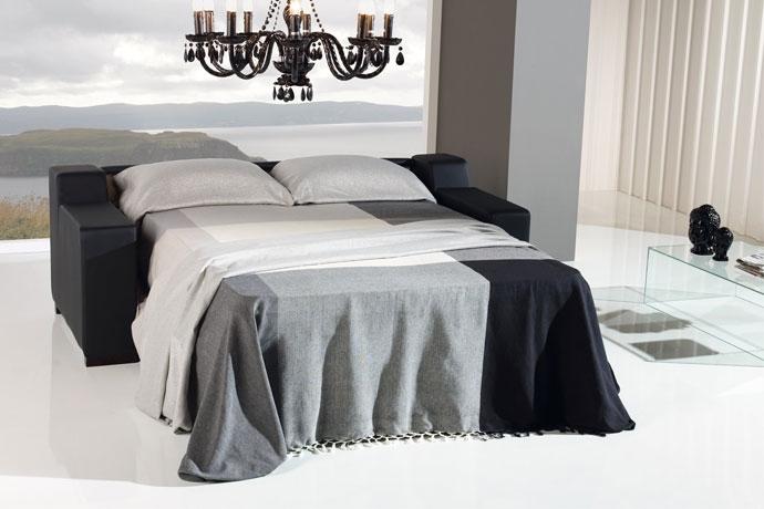 Las 6 ideas para salones con poco espacio sofas cama cruces - Sofa cama que ocupen poco espacio ...