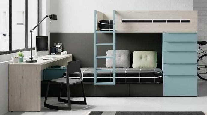 Cómo aprovechar al máximo el espacio en la habitación de tu hijo con Sofás Cama Cruces