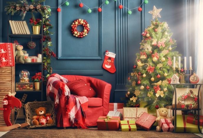 10 consejos para decorar tu salón en Navidad