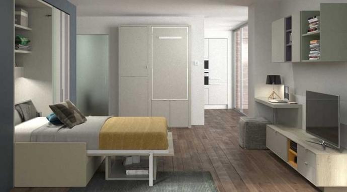 8 soluciones prácticas para pisos de 40 metros cuadrados
