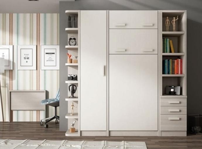 Cómo colocar armarios en dormitorios pequeños