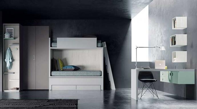 ¿Cómo generar espacio extra en una habitación infantil?