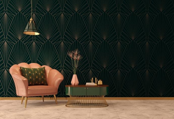 10 formas elegantes de usar el dorado en decoración