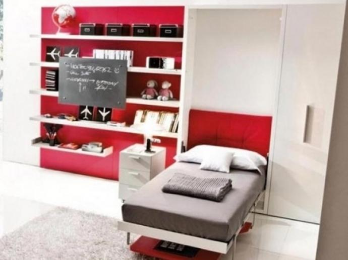 10 muebles cama individuales con mesa que te encantarán