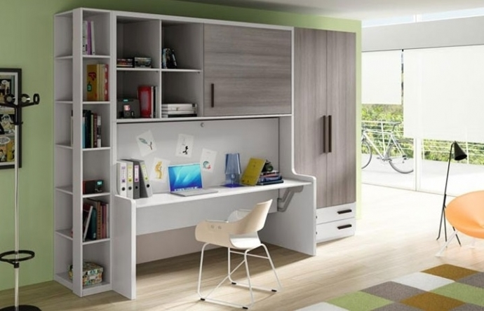 ¿Apartamentos pequeños? ¡Elige muebles cama mesa!