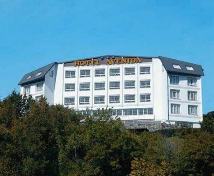 Sofás cama para hoteles de la marca Cruces en el Hotel Avenida de San Sebastián