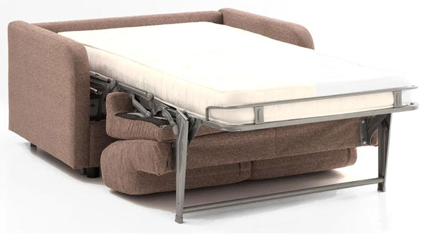 Sillón cama con brazo estrecho abierto