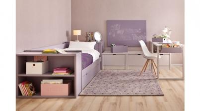 Habitaci n juvenil para chica adolescente sofas cama cruces for Sofa para dormitorio