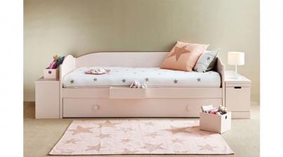 Habitaci n juvenil para chica adolescente sofas cama cruces for Sofa cama juvenil