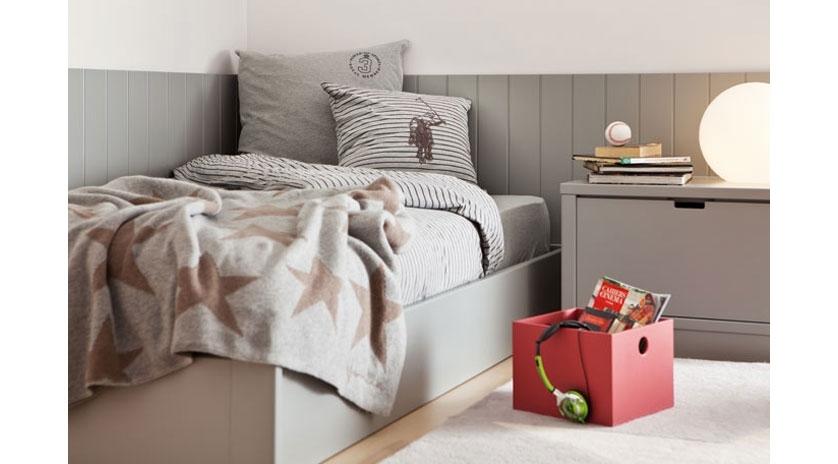 Habitaci n juvenil individual para adolescente sofas cama cruces - Cama individual juvenil ...