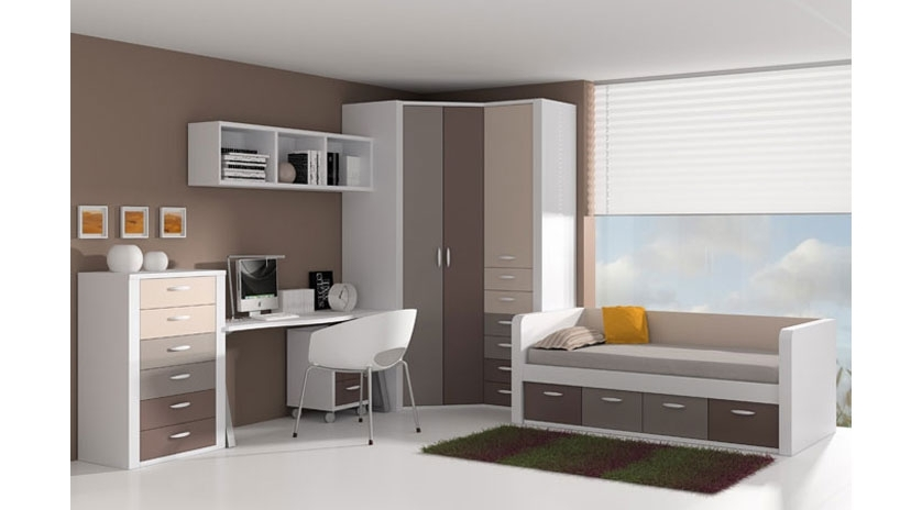 Cama nido con frisos y cajones inferiores sofas cama cruces - Sofa cama juvenil ...