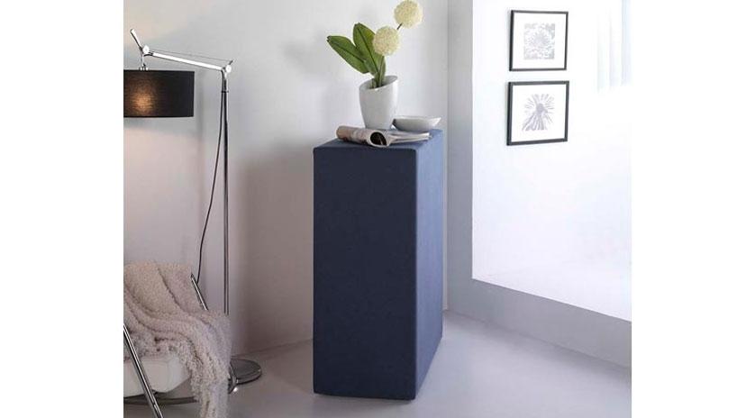 Mueble cama plegable tapizado