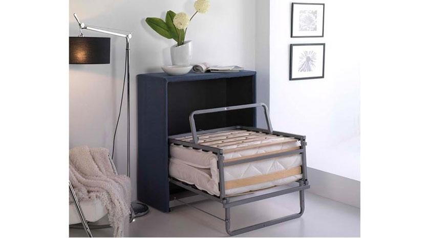 Mueble cama plegable tapizado sofas cama cruces - Mueble sofa cama ...