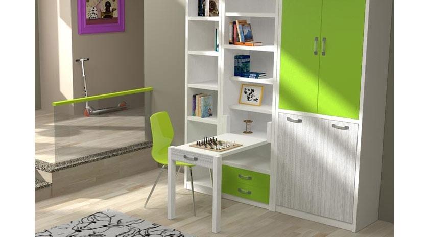 Mueble cama plegable de apertura frontal sofas cama cruces for Mueble cama plegable