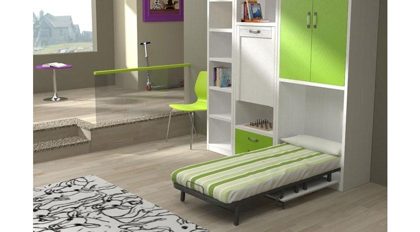Mueble cama plegable de apertura frontal