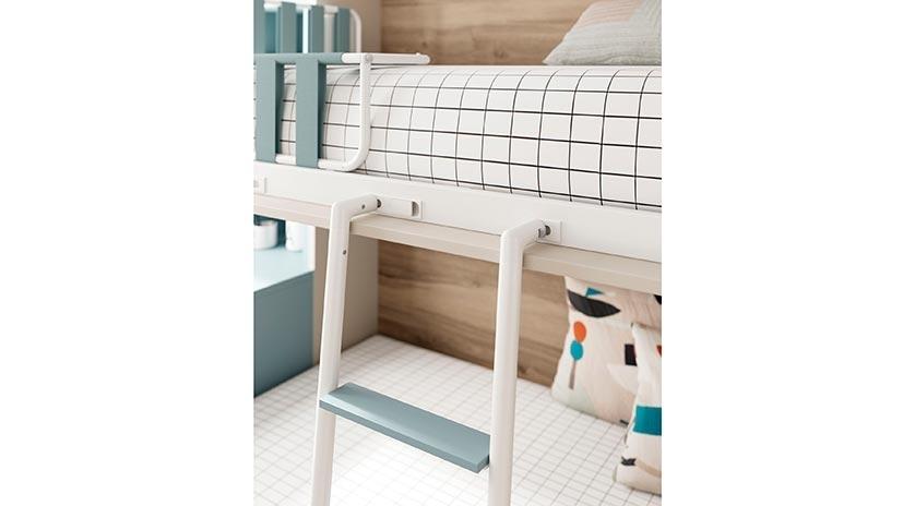 Sof cama con cajones abajo y litera abatible sofas cama - Literas con escritorio debajo ...
