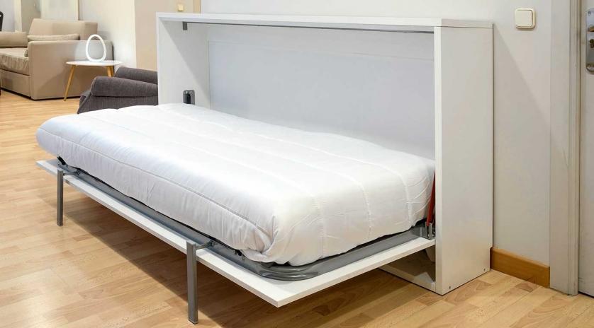 Sencillo y económico mueble cama individual