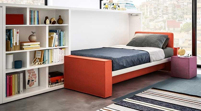 mueble cama abatible con sofá