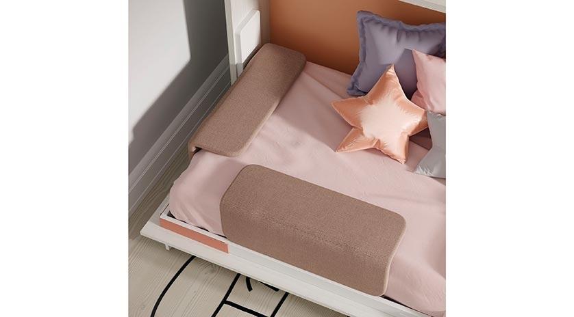 Mueble cama individual de 90 x 190 | Sofas Cama Cruces
