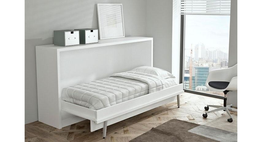 Mueble cama individual sofas cama cruces for Mueble cama matrimonio