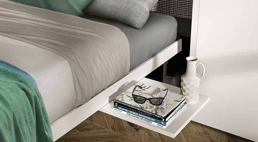 Mueble cama abatible y giratorio de matrimonio sofas cama cruces - Cama mueble abatible ...