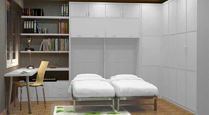 Camas gemelas abatibles sofas cama cruces for Sofas camas cruces