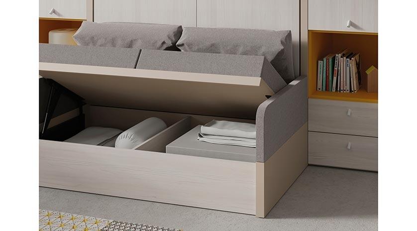 mueble cama con sof delante sofas cama cruces