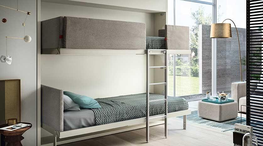 Litera abatible de dise o sofas cama cruces - Muebles sofas camas ...