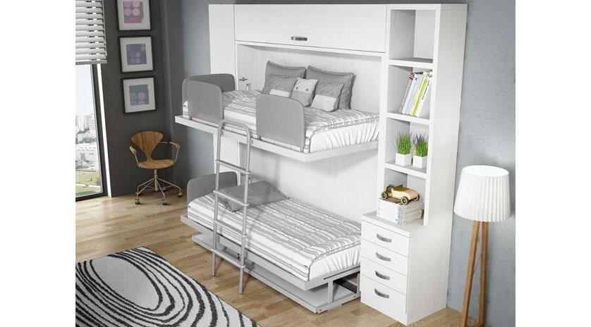 Muebles cama Literas abatibles abierto