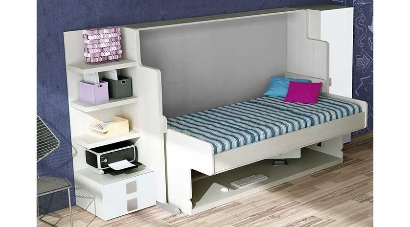 mueble cama con mesa