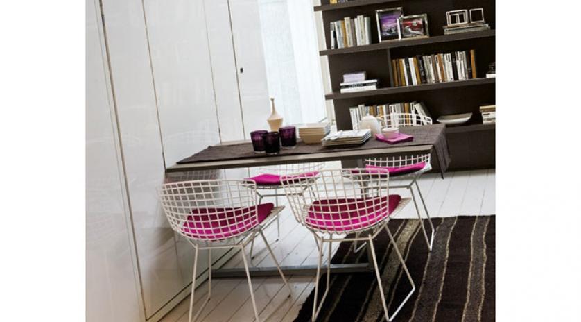 Cama abatible con mesa de comedor | Sofas Cama Cruces