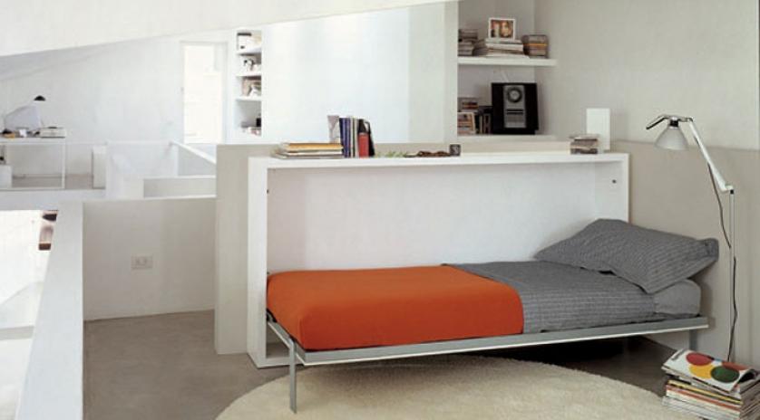mueble cama abatible individual con mesa abatible sofas