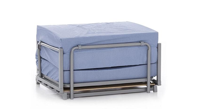 Puff cama moderno sin funda