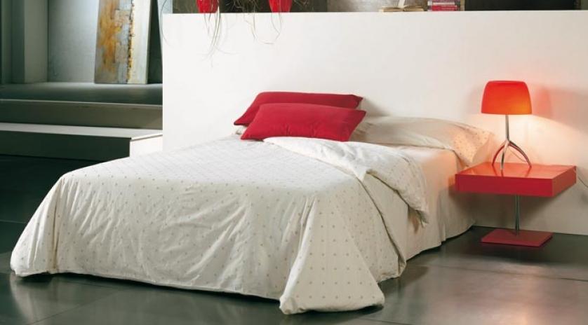 Puff cama 135x190 montado