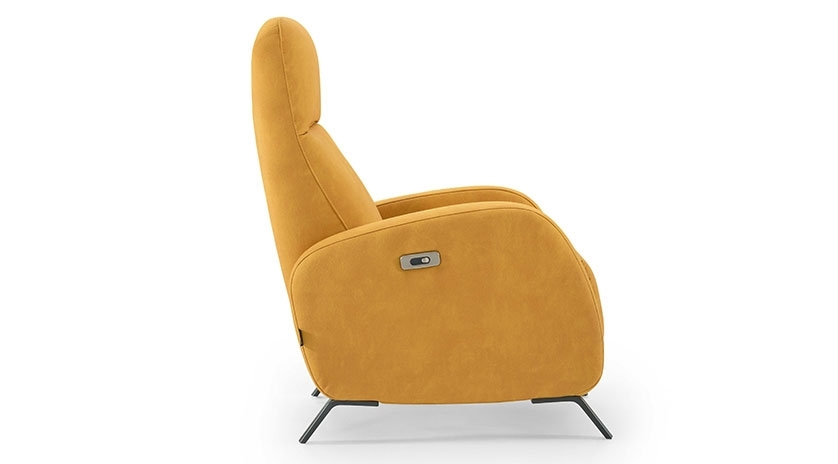 sillón reclinable doble reposapiernas