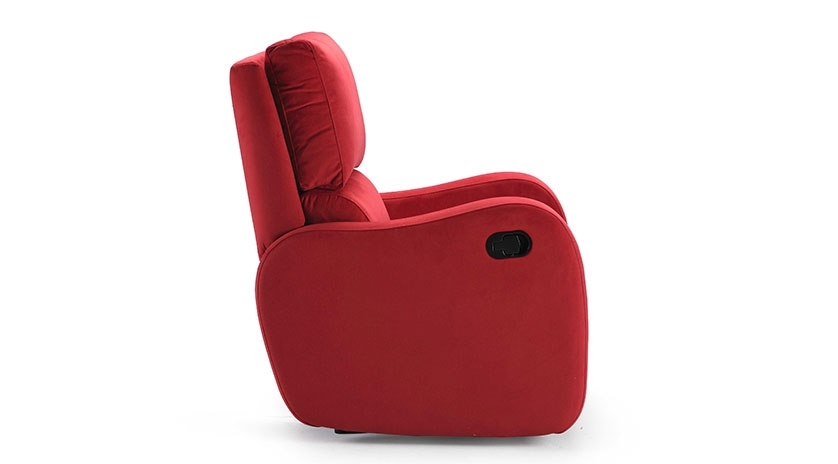 sillón reclinable mullido