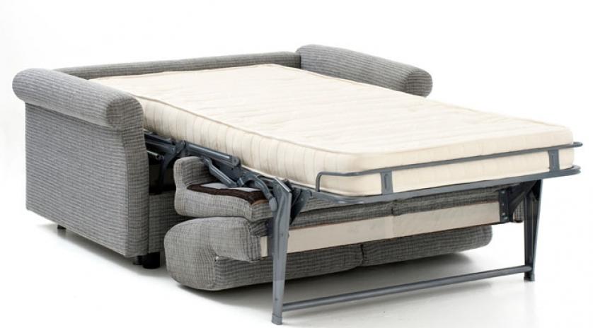 Sill n cama con brazo redondo sofas cama cruces for Sillon cama pequeno