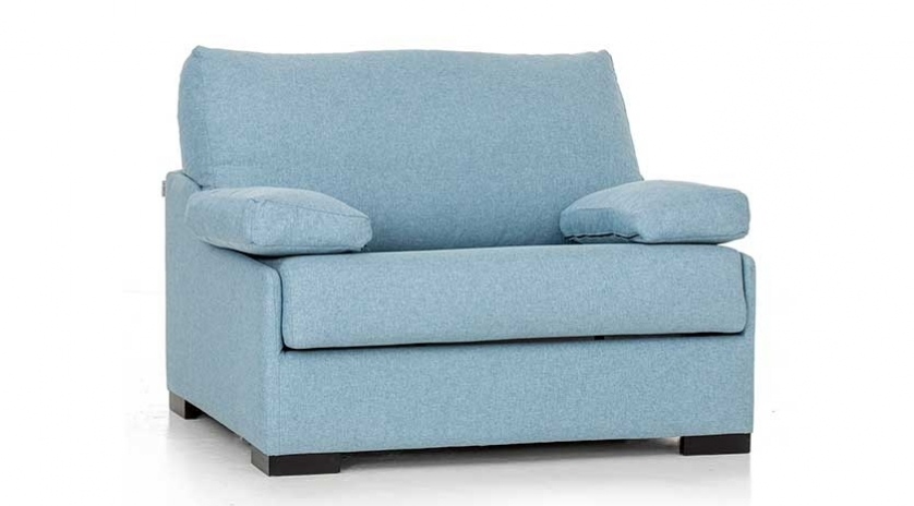 Sill n cama de medidas muy reducidas sofas cama cruces for Sillon cama juvenil
